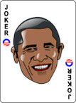 STICKER OBAMA THE JOKER