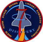 STICKER NASA SPACE SHUTTLE MISSION STS-95