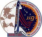 STICKER NASA SPACE SHUTTLE MISSION STS-87