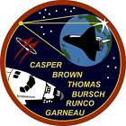STICKER NASA SPACE SHUTTLE MISSION STS-77