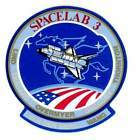 STICKER NASA SPACE SHUTTLE MISSION STS-51B