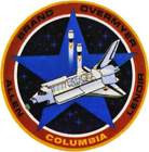 STICKER NASA SPACE SHUTTLE MISSION STS-5