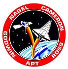 STICKER NASA SPACE SHUTTLE MISSION STS-37