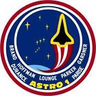 STICKER NASA SPACE SHUTTLE MISSION STS-35