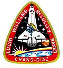 STICKER NASA SPACE SHUTTLE MISSION STS-34