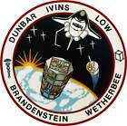 STICKER NASA SPACE SHUTTLE MISSION STS-32