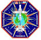 STICKER NASA SPACE SHUTTLE MISSION STS-191