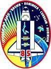 STICKER NASA SPACE SHUTTLE MISSION STS-185