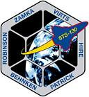 STICKER NASA SPACE SHUTTLE MISSION STS-130