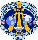 STICKER NASA SPACE SHUTTLE MISSION STS-128