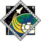 STICKER NASA SPACE SHUTTLE MISSION STS-122