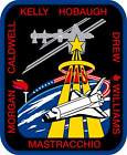 STICKER NASA SPACE SHUTTLE MISSION STS-118
