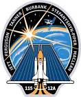 STICKER NASA SPACE SHUTTLE MISSION STS-115
