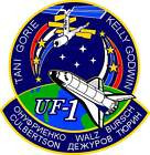 STICKER NASA SPACE SHUTTLE MISSION STS-108