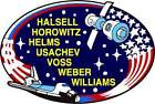 STICKER NASA SPACE SHUTTLE MISSION STS-101
