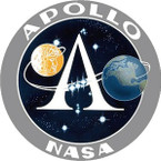 STICKER NASA APOLLO PROGRAM