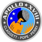 STICKER NASA APOLLO MISSION 18