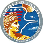 STICKER NASA APOLLO MISSION 17
