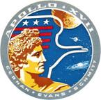 STICKER NASA APOLLO MISSION 17