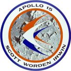 STICKER NASA APOLLO MISSION 15