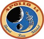 STICKER NASA APOLLO MISSION 14