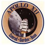 STICKER NASA APOLLO MISSION 12
