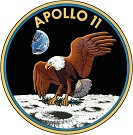 STICKER NASA APOLLO MISSION 11
