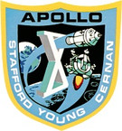 STICKER NASA APOLLO MISSION 10