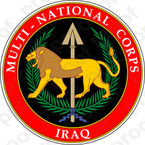 STICKER MILITARY Multi-National Corps-Iraq (MNC-I) Emblem