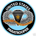 STICKER MILITARY USMC ARMY NAVY COMBAT PARATOOPER