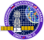 Sticker ISS Soyuz TMA-22