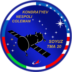 Sticker ISS Soyuz TMA-20