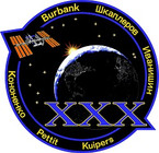 STICKER ISS Expedition  30