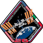 STICKER ISS Expedition  26