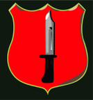 STICKER British SSI - School of Infantry
