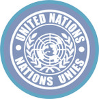 STICKER British SSI - Internaztional - United Nations