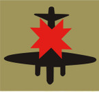 STICKER British SSI - 8th Anti-Aircraft Division