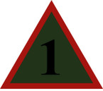 STICKER British SSI - 1st Mechanised Brigade