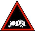 Sticker British SSI - 1st (UK) Armoured Division