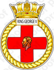 STICKER British Navy HMS King George V (41)