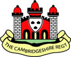 Sticker British Crest - The Cambridgeshire Regiment