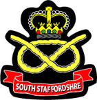 STICKER British Crest - South Staffordshire Regt - South Staffs - 1