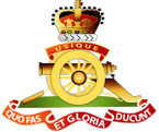 STICKER British Crest - Royal Artillery - 1