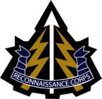 STICKER British Crest - Reconnaissance Corps