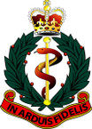 STICKER British Crest - RAMC