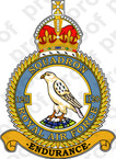 STICKER British Crest RAF 120 Squadron