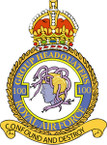 STICKER British Crest - RAF - 100 Group