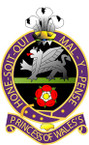 STICKER British Crest - Princess o fWales Own Royal Regiment - 1