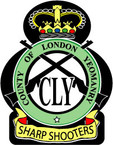 Sticker British Crest - City of London - Yeomanry
