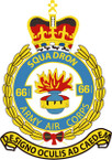 STICKER British Crest - 661 SQN - Army Air Corps (AAC)